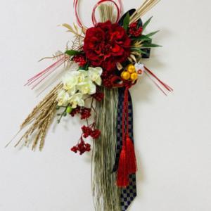 手作りのお正月飾りで華やかな新年をオン