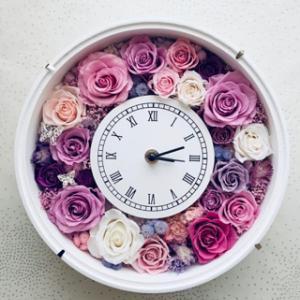 エレガントな花時計