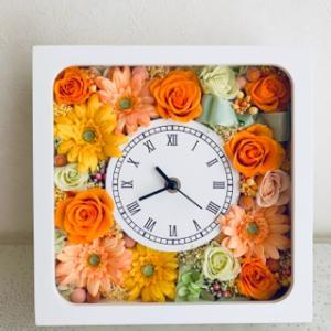 元気カラーの花時計