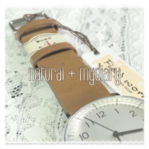 シンプルなアナログ腕時計