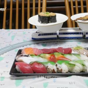 おうちで回転寿司♪