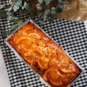 オレンジケーキとチョコマフィン。