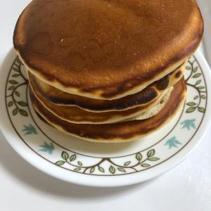 またまたホットケーキ作り