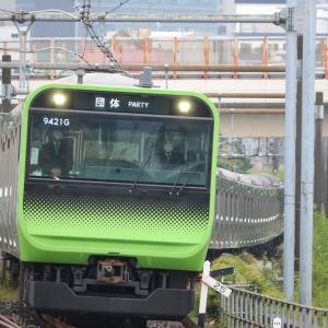 山手線ノンストップ列車「夢さん橋号」を撮る。