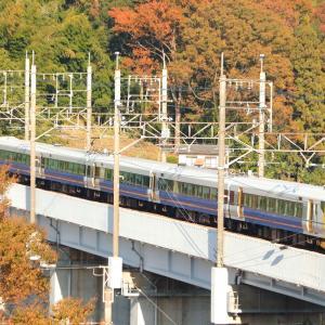 本日の臨時列車の撮影記録。