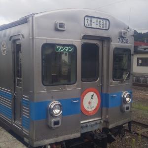 弘南鉄道で今も現役で走り続ける東急7000系と出会う。