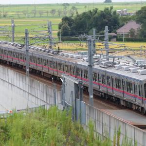 二度目の奇跡が起きた、3500形が成田スカイアクセス線を再び走行。