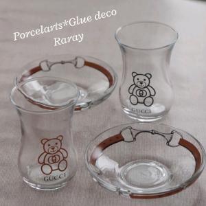 可愛いフォルムのチャイグラス♪