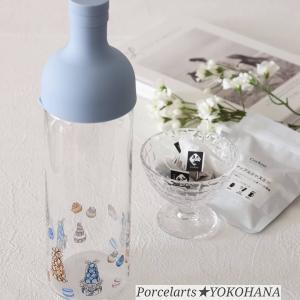 ポーセラーツで彩るHARIO耐熱ガラスボトル♪