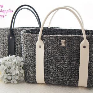 編み物初心者さまも続々と完成☆AJBJewelry bag plus