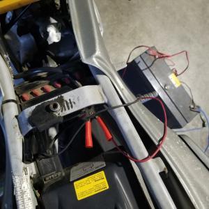 aprilia RS50 通電チェック