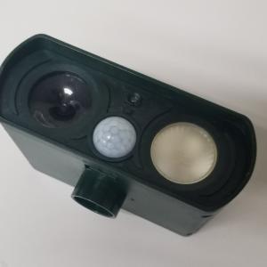超音波動物撃退器外部電源化 非接触体温計修理 ストップウォッチ電池