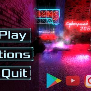 スマホゲーム Cyber Reteo punk 2069