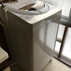 新しい洗濯機がキター!