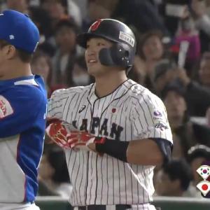 【プレミア12動画】侍ジャパンを引っ張る4番・鈴木誠也が勝ち越しタイムリー