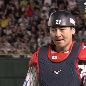 【プレミア12】ゲストの上原浩治さんが會澤のリードを解説「素晴らしい活躍だと思う」