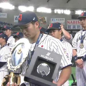 プレミア12大会MVPは侍ジャパン4番・カープ鈴木誠也!