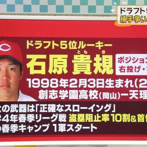 📺北別府学の週刊 GO up!ルーキー石原貴規捕手を達川さんが解説【5up!】
