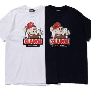 👕XLARGE(エクストララージ)×カープコラボTシャツ、4月17日~2色展開で限定販売(店頭での先行予約あり)