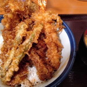 大江戸天丼…暑くて撮り歩きできない