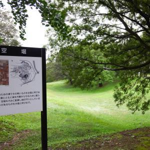 雨上がりの佐倉城址公園