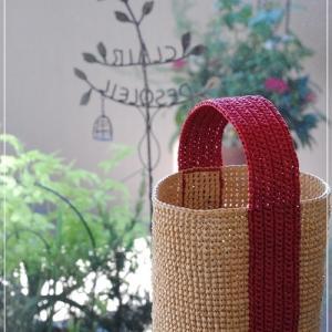 手編みバッグ♪