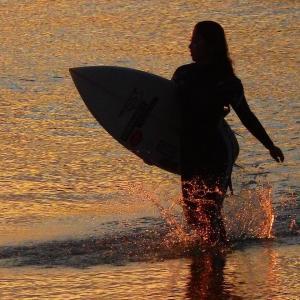 ロングビーチで遊ぶ