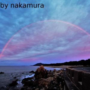 ロングビーチの虹