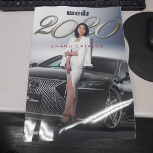 WEDS2020ホイールカタログ入庫