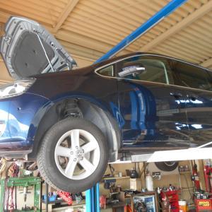 VWシャランの修理!