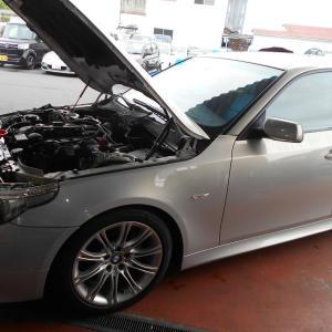 BMWのセルモーター交換!