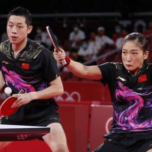 東京オリンピック混合ダブルス