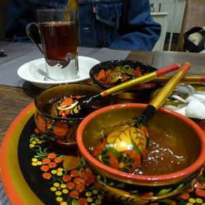ロシアンティーが飲みたくて♪ 新宿のロシア料理店スンガリーでランチ♪