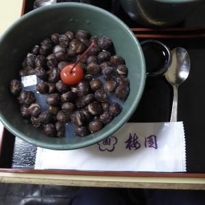 水上バスで浅草へ♪ 浅草寺にお参りしたら梅園の豆かん♪
