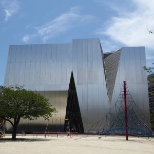 すみだ北斎美術館の建物を見に行ってみた♪ 久しぶりの両国散歩♪