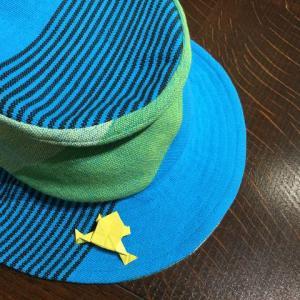 井の中の蛙、帽子被って出掛けてみたら‥❣️