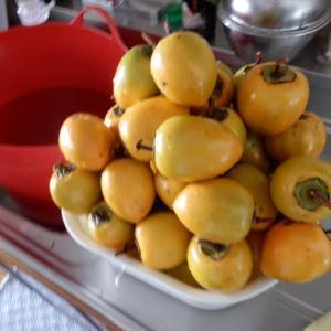 今年も干し柿を