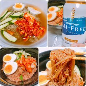自宅で夕食 .293 (冷麺&ビビン麺)