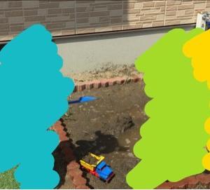 泥遊びし放題♡手作り砂場の作り方