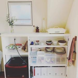スッキリした食器棚にする方法!
