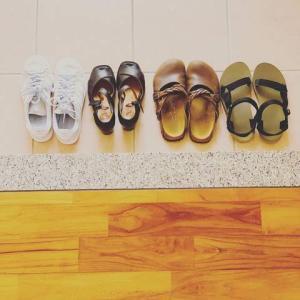 アラフォーミニマリストの靴、4足だけ!