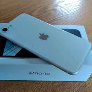 iPhone SEに機種変更