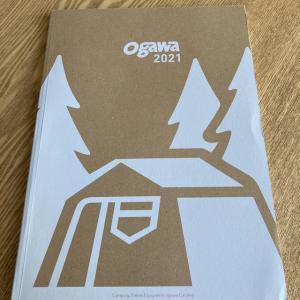 ogawaのカタログやミモザが満開