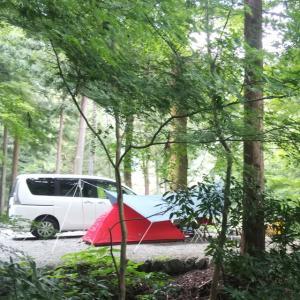 夏の終わりにソロキャンプ「このまさわキャンプ場」8月25日(日)〜26日(月)
