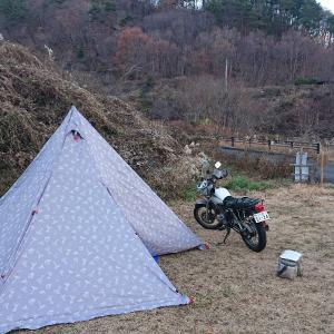 上州屋チューンそして今年最後のキャンプツーリングは福島県