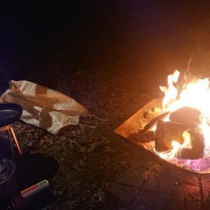 福島でソロキャンプ!焚き火が超あたたかいε-(´∀`*)ホッ