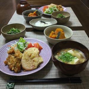 ちっちゃいカキフライとソーセージの天ぷら