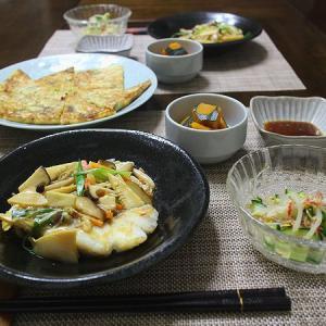 白身魚の和風野菜あんかけ