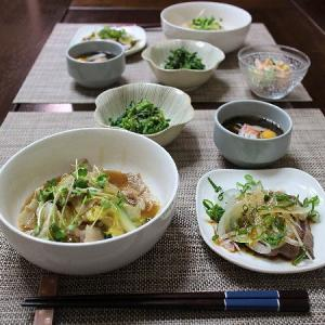 白菜と豚ばら肉のあんかけ炒め煮