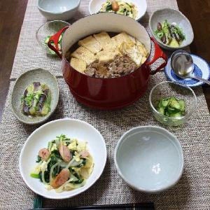 ダンスクの赤い鍋で作った肉豆腐♪